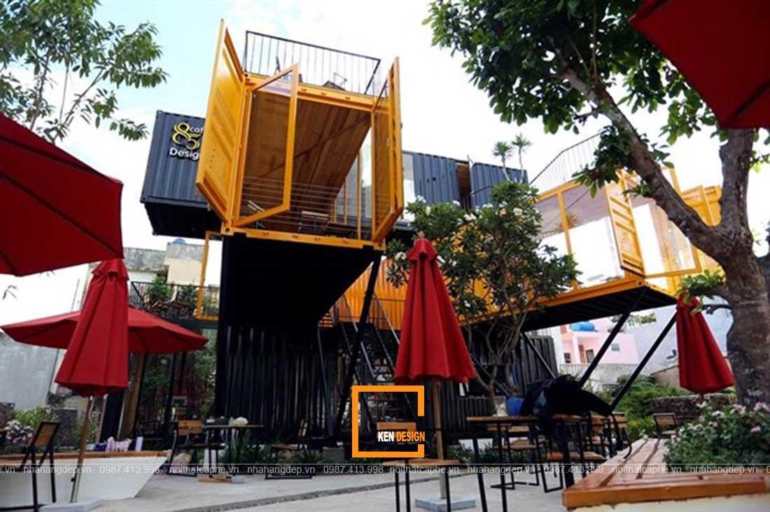 Tìm hiểu đặc điểm của xu hướng thiết kế nhà hàng Container
