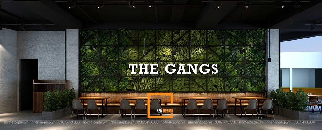Thiết kế nhà hàng The Gangs