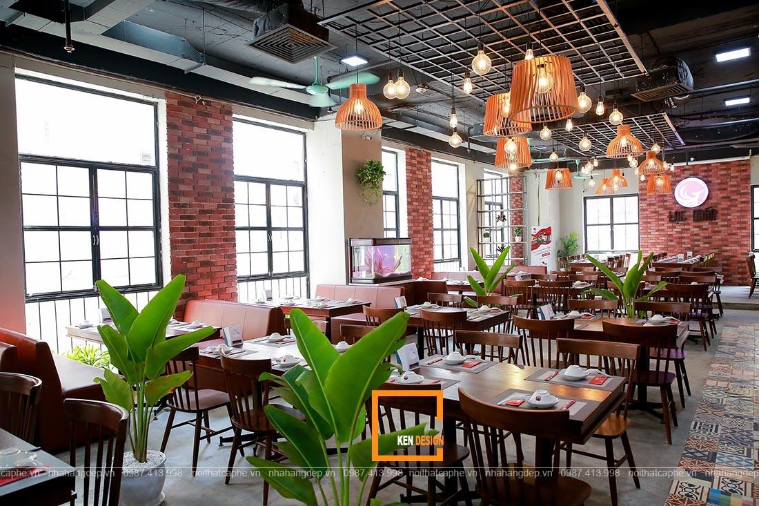 thiết kế nhà hàng lẩu Thái