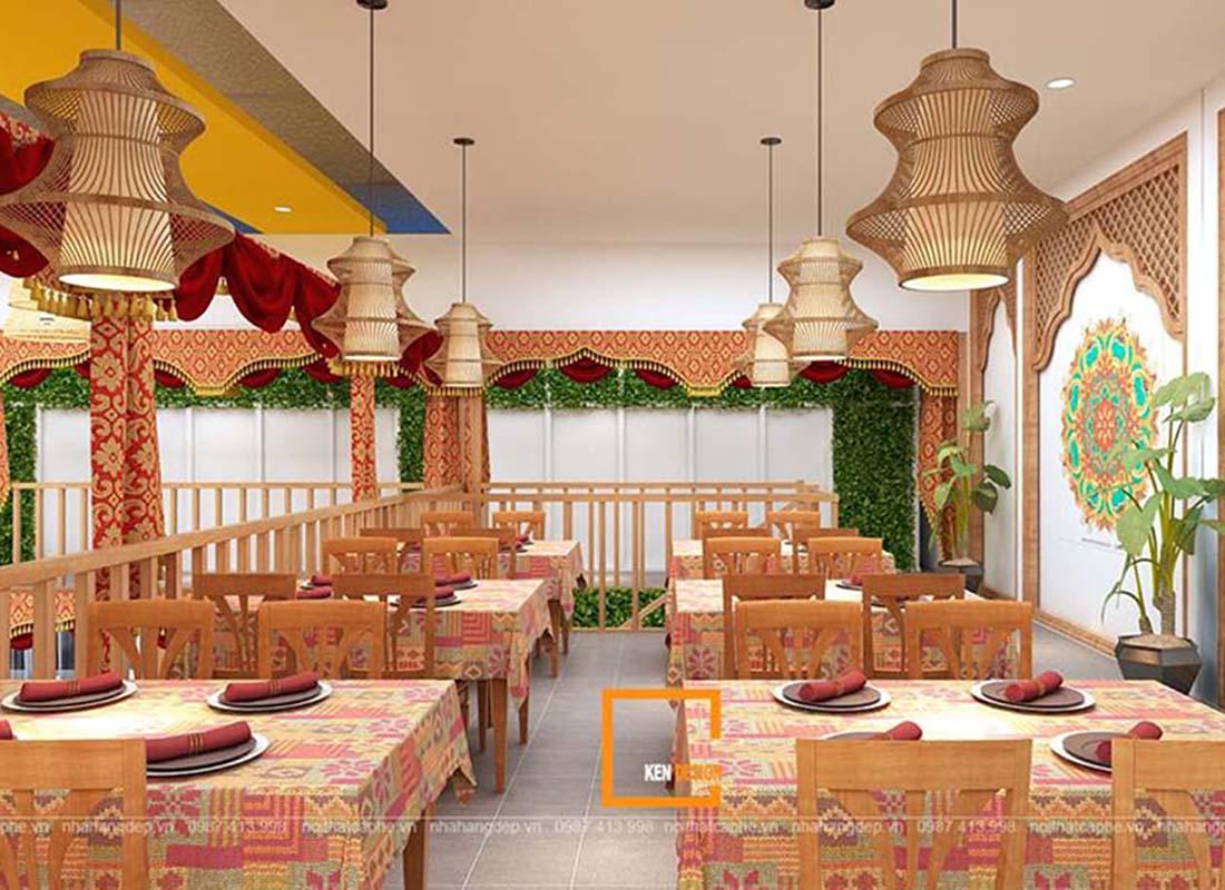 Đặc trưng trong thiết kế nhà hàng lẩu Thái đang làm mưa làm gió hiện nay