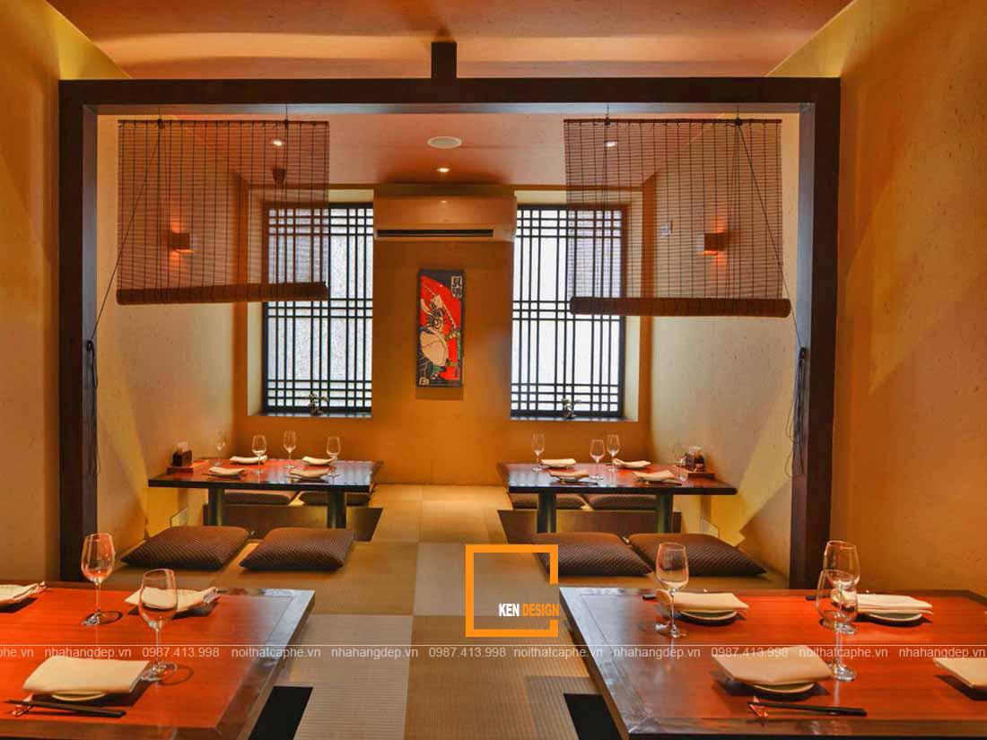 Khám phá những mô hình thiết kế nhà hàng món Nhật hot nhất hiện nay