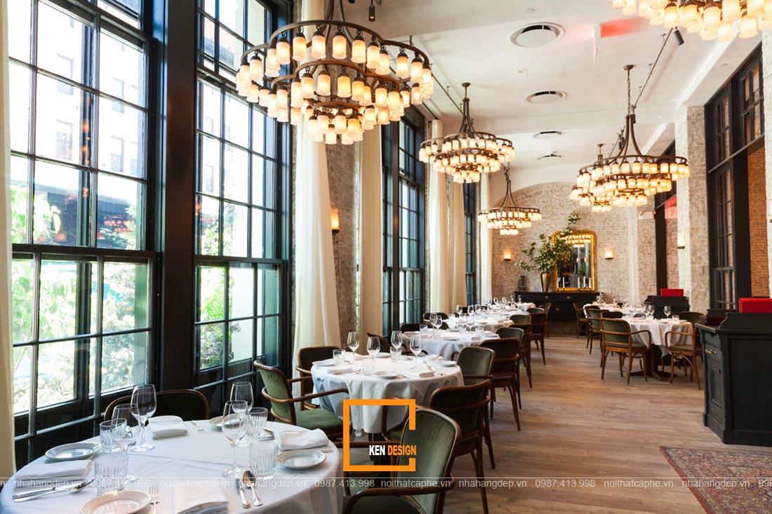 thiết kế nhà hàng Pháp
