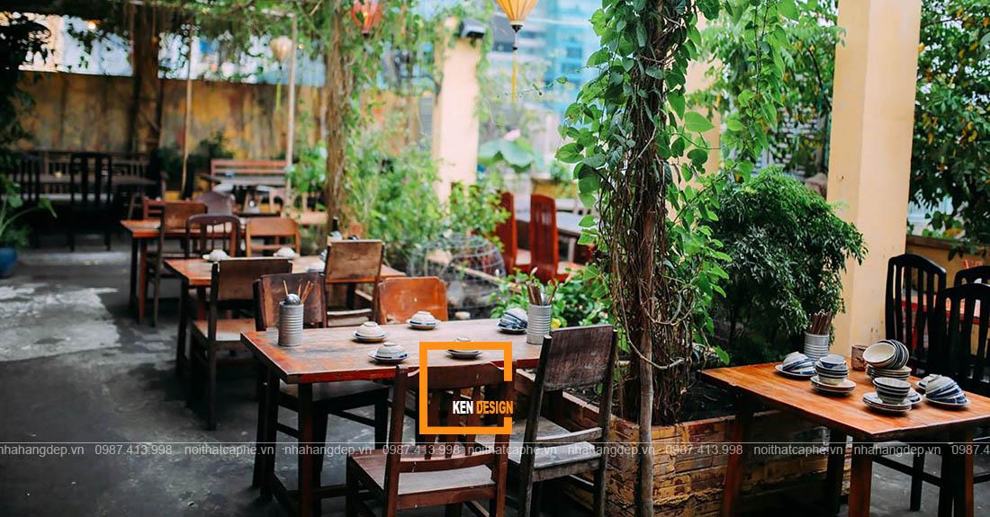 Bí quyết thiết kế nhà hàng sân vườn phóng khoáng thu hút khách hàng