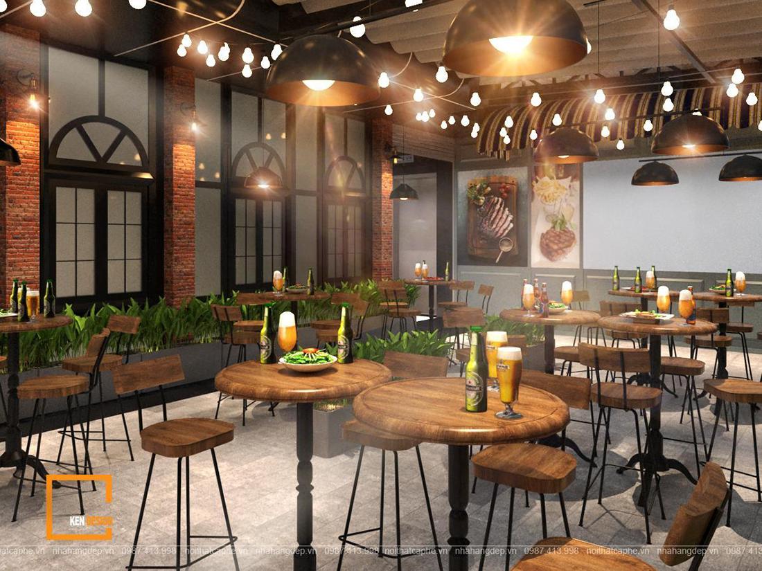 Làm sao để sở hữu một thiết kế nhà hàng beefsteak ấn tượng?