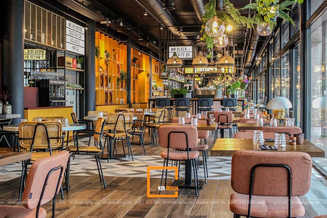 thiết kế nhà hàng tại Lào