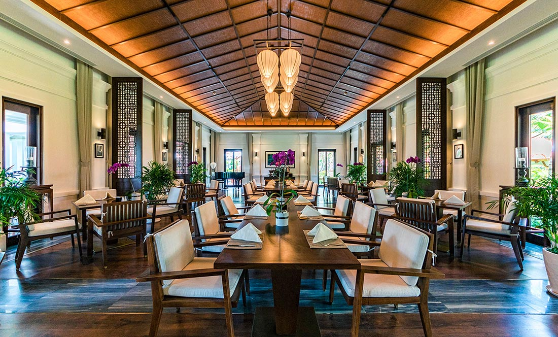 Thiết kế nhà hàng tại Nam Định phong cách Indochina