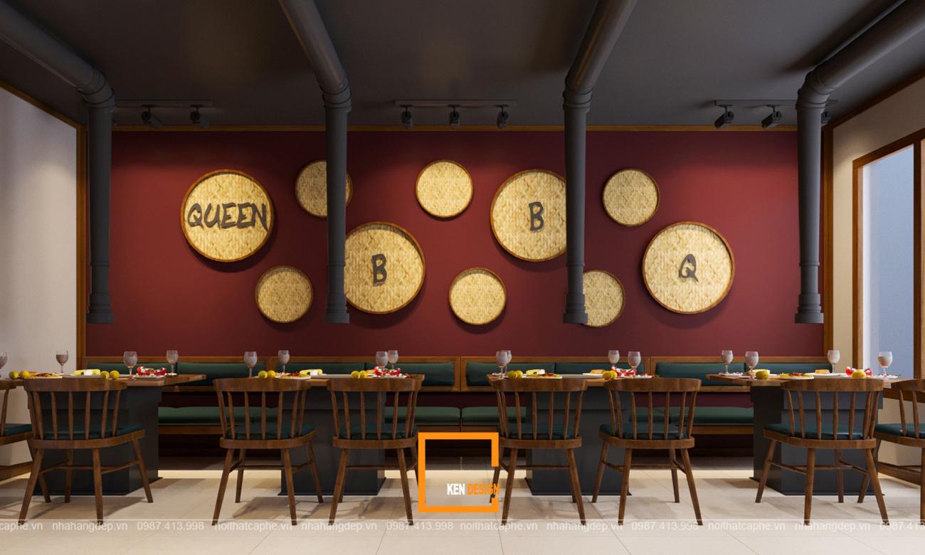 thiết kế nhà hàng tại Nam Định