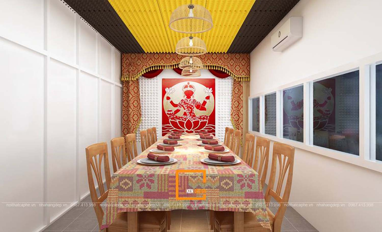 thiết kế nhà hàng Thái Lan