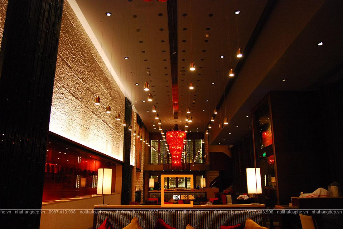 Thiết kế nhà hàng Trung Hoa, đặc trưng và những lưu ý cần nhớ
