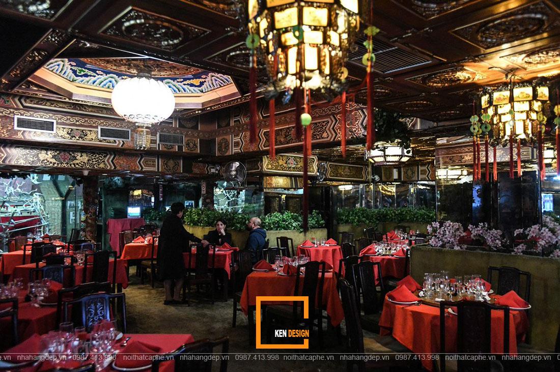 Thiết kế nhà hàng Trung Hoa