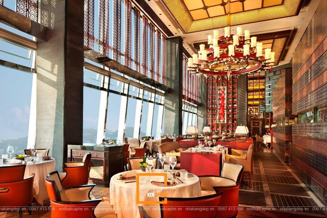 Bật mí cách thiết kế nhà hàng Trung Hoa nổi bật, thu hút