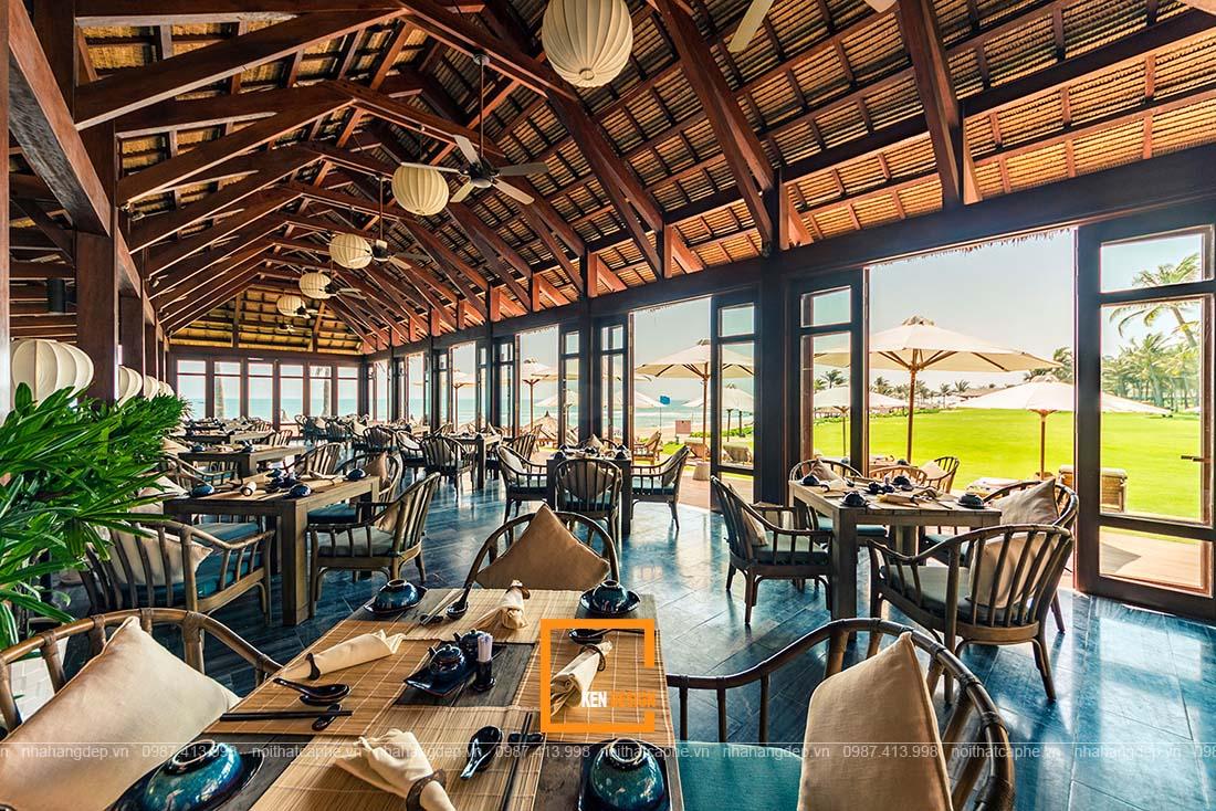 Thiết kế nhà hàng truyền thống tại Hồ Chí Minh