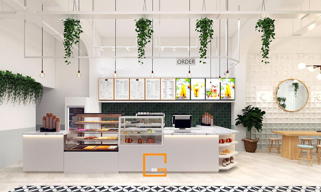 Thiết kế quán cafe Akiko tại Hải Phòng