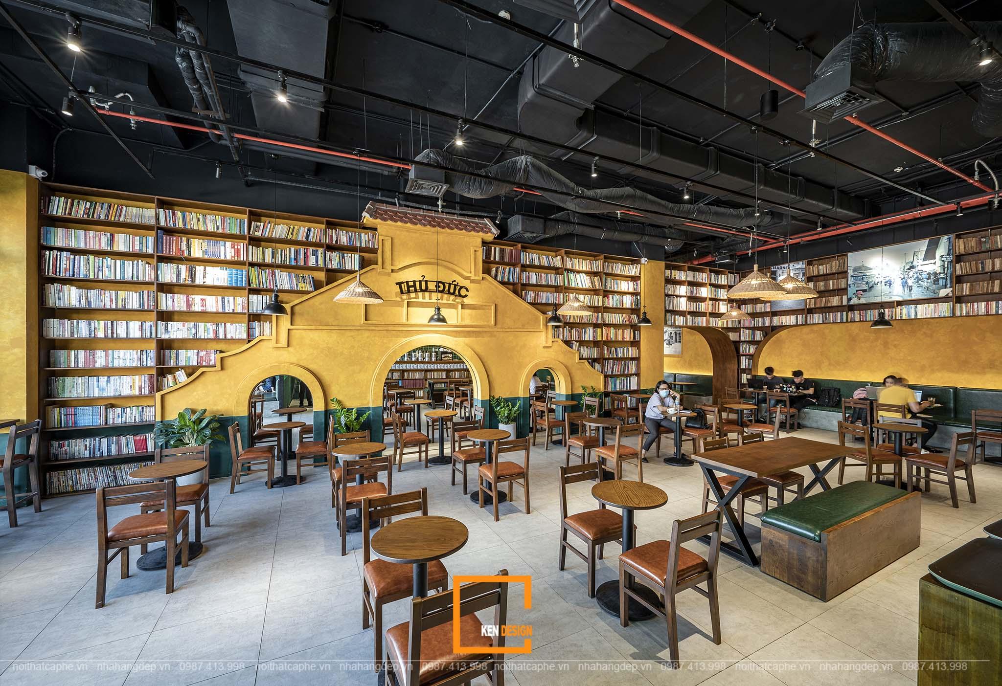 Thiết kế quán cà phê phong cách indochine - sức hút của vẻ đẹp Việt –Pháp