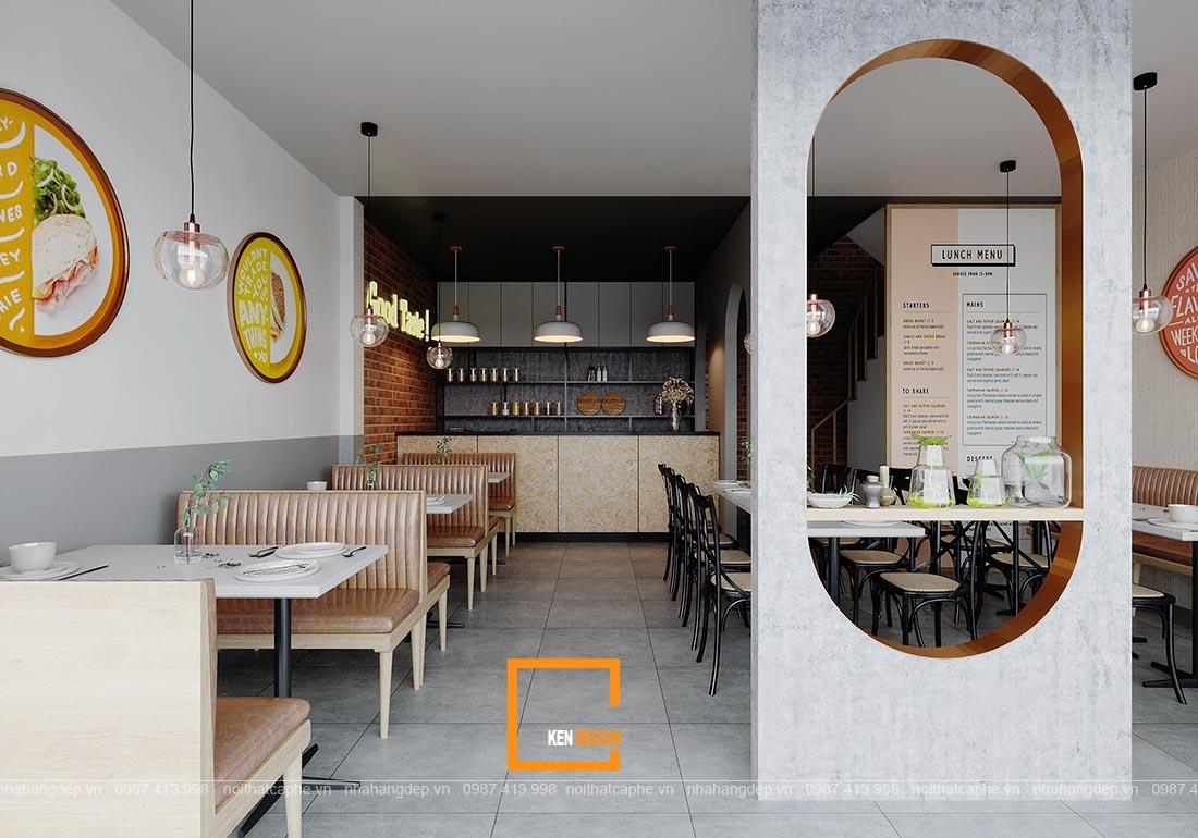Thiết kế quán ăn