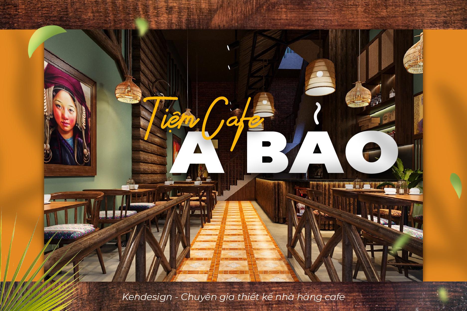 Thiết kế quán café A Bảo – một Tây Bắc giữa lòng thành phố
