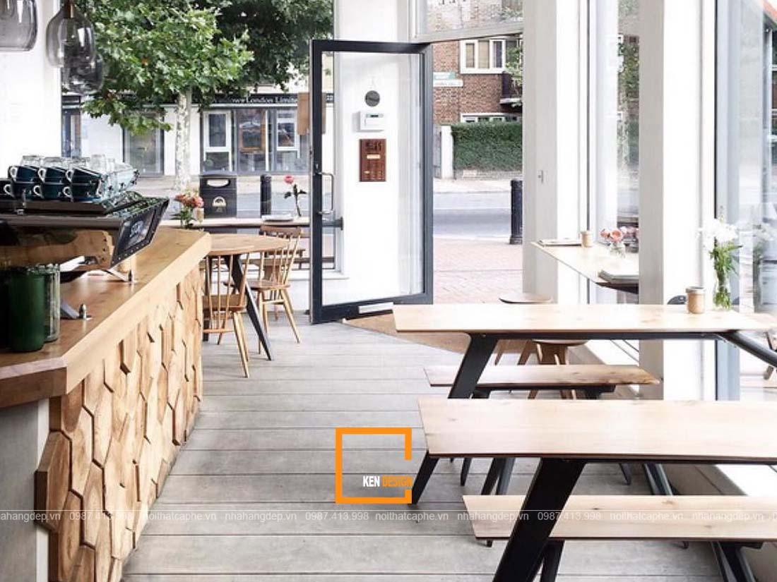 thiết kế quán cafe phong cách Bắc Âu