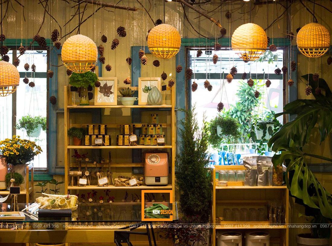 thiết kế quán cafe phong cách cổ điển