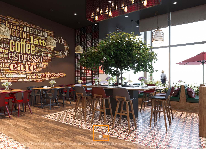 Thiết kế quán cafe phong cách công nghiệp tại Đà Nẵng
