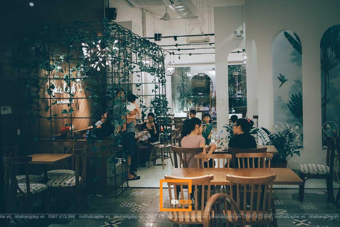 Bỏ túi cách thiết kế quán cafe phong cách tropical hiệu quả nhất