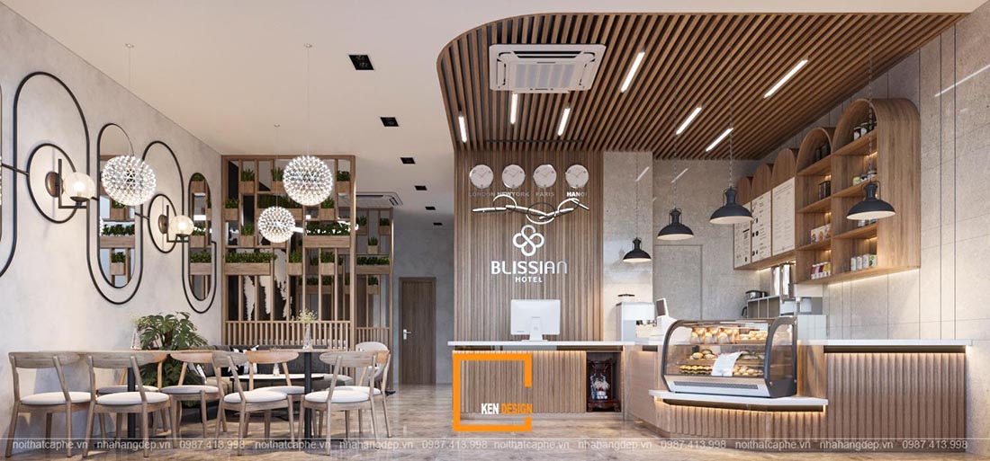 thiết kế quán cafe tại Đà Nẵng