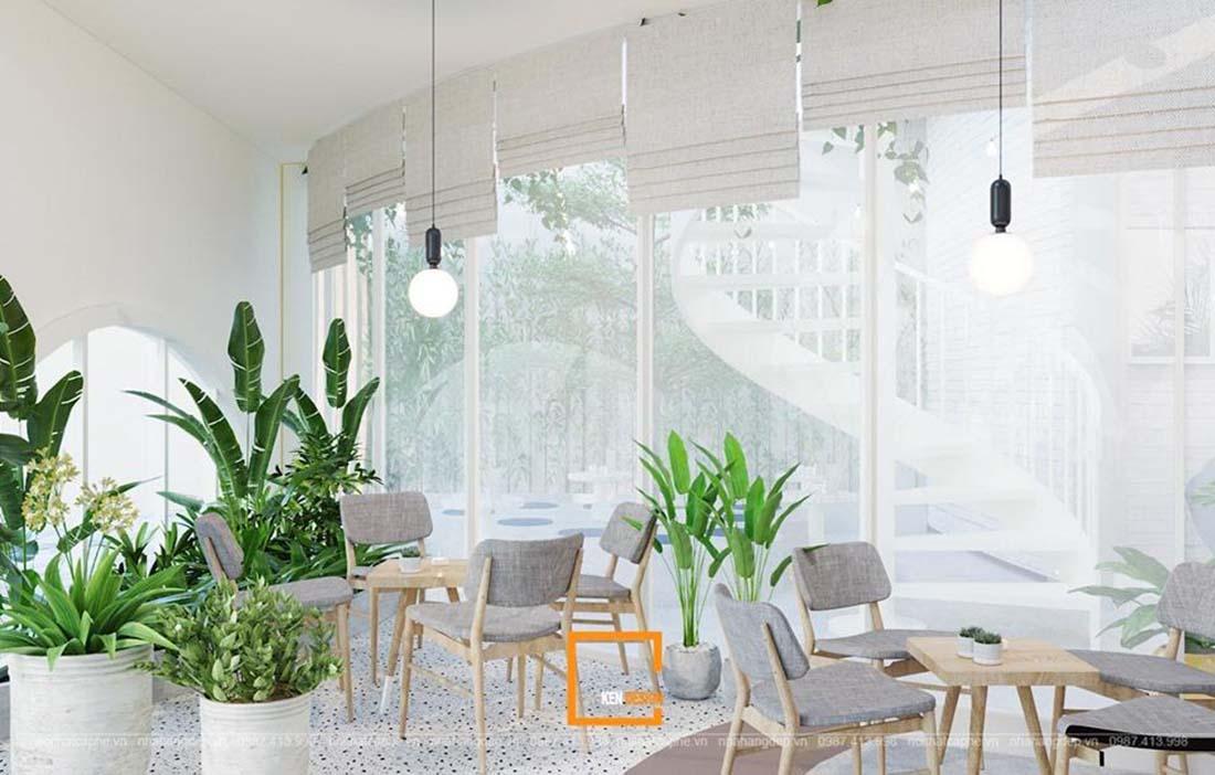Thiết kế quán cafe tại Hà Nội giúp việc cạnh tranh hiệu quả