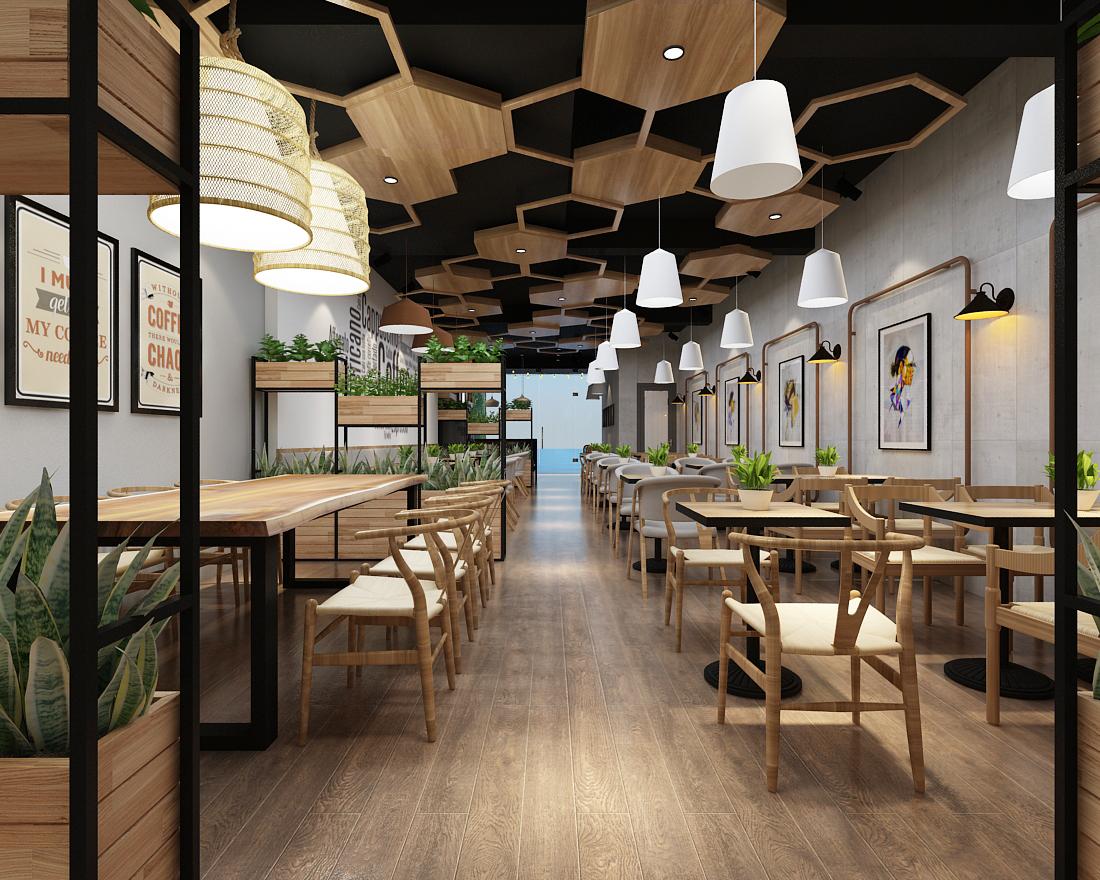 thiết kế quán cafe tại Hải Dương.