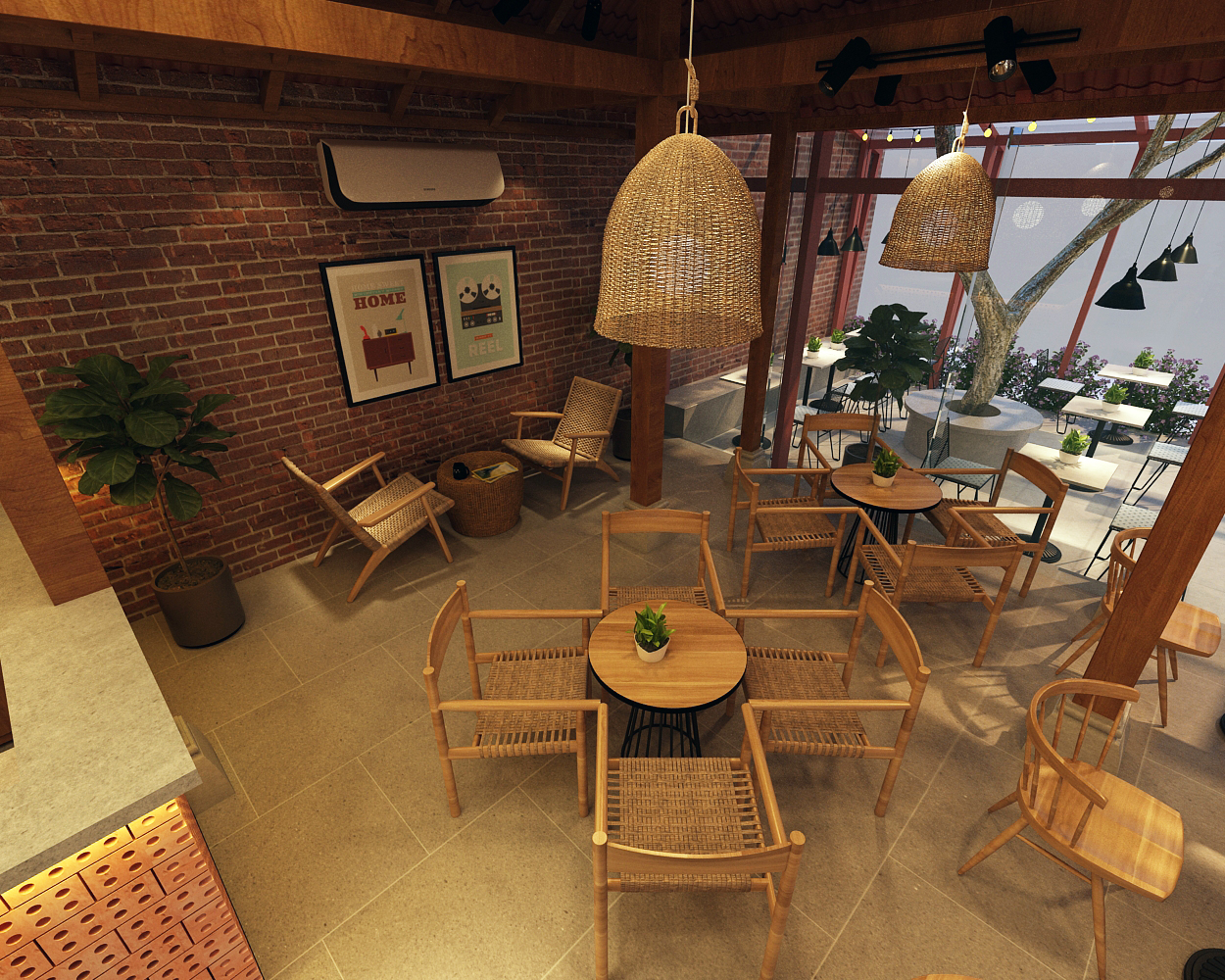 Thiết kế quán cafe tại Hải Dương