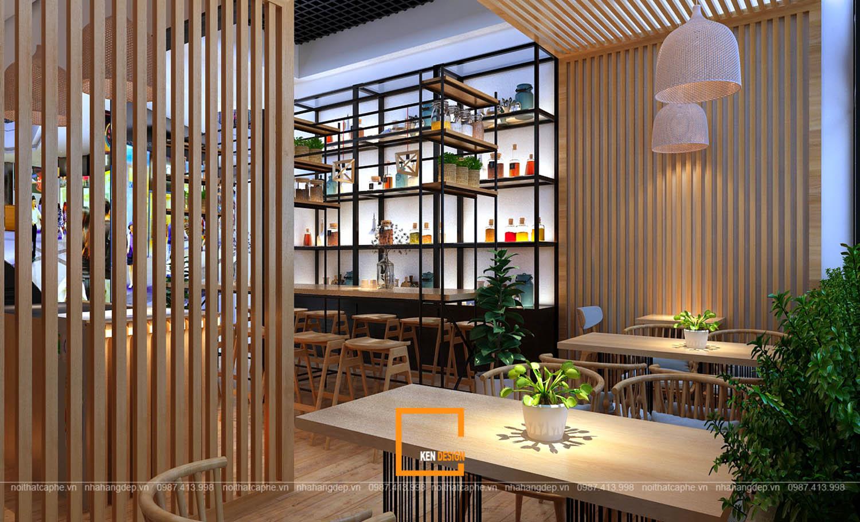 thiết kế quán cafe tại sân bay