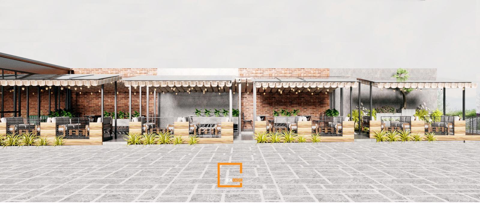 Thiết kế quán cafe Urban Coffee tại Nghệ An