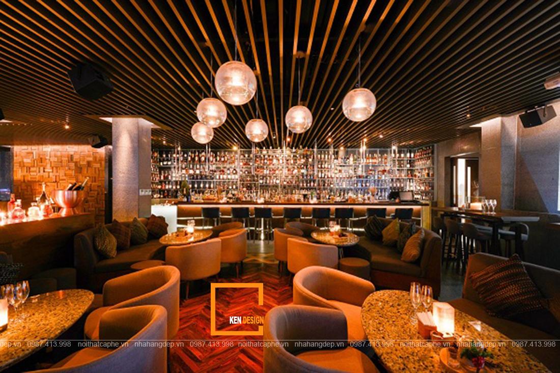 Để có một thiết kế quán cà phê & Lounge ấn tượng