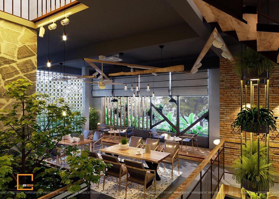Những thiết kế quán cà phê không gian mở được yêu thích nhất của KenDesign
