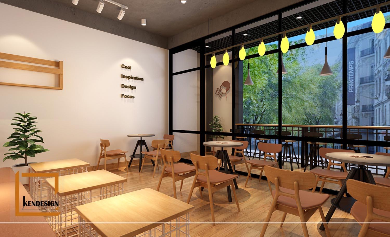 thiết kế quán trà sữa đài loan