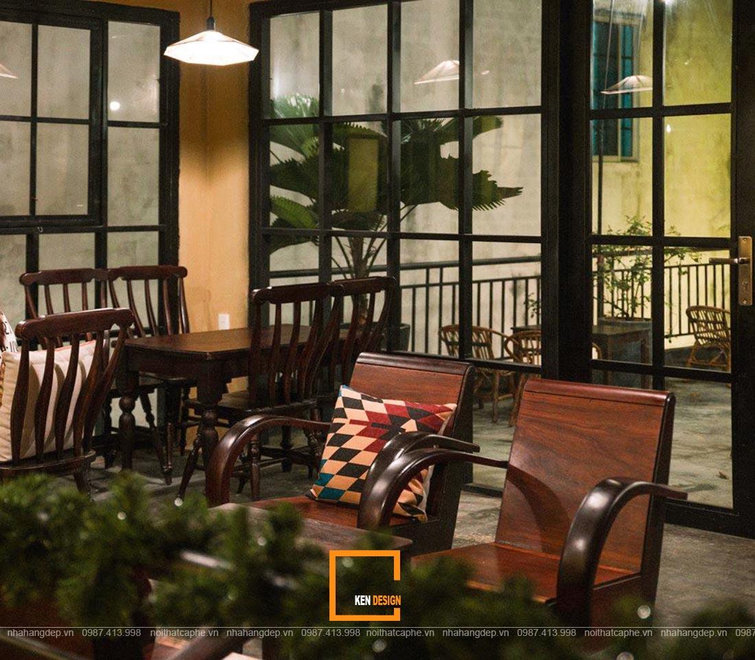 Thiết kế quán trà sữa phong cách Indochina