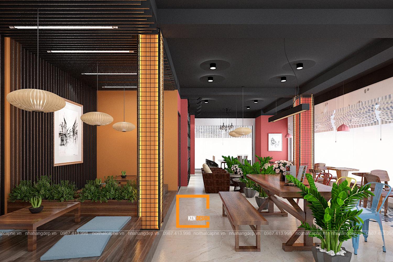 thiết kế quán trà sữa tại Bắc Ninh.