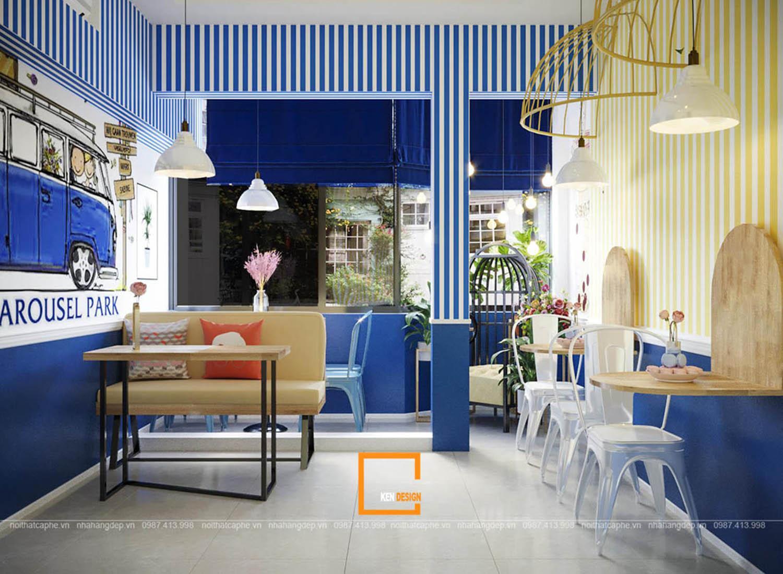 thiết kế quán trà sữa tại Đà Nẵng giá rẻ