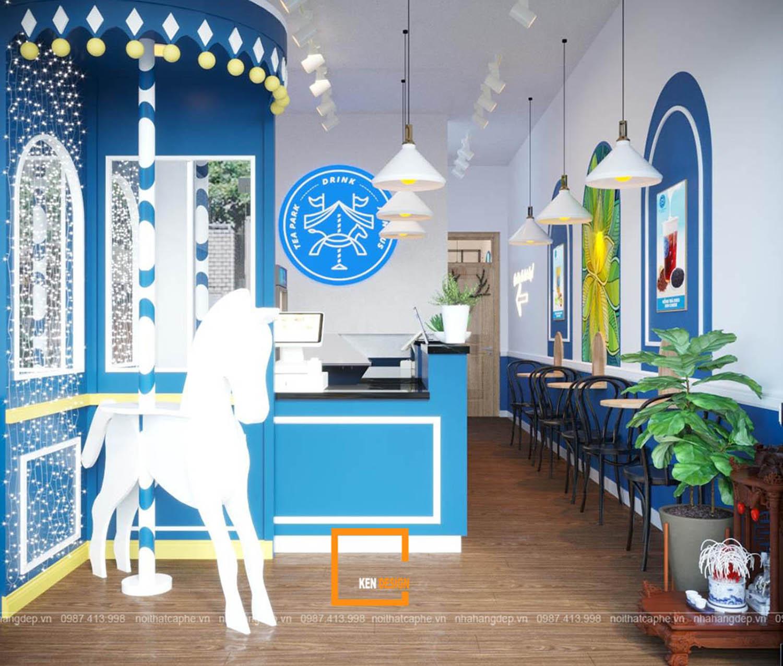 Thiết kế quán trà sữa tại Hồ Chí Minh - Lối đi nào cho chủ đầu tư?
