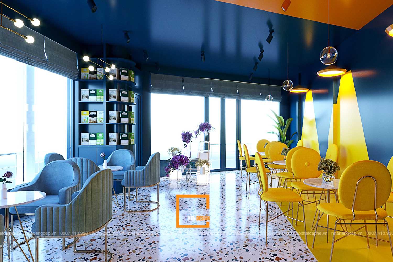 thiết kế quán trà sữa tại Phú Thọ