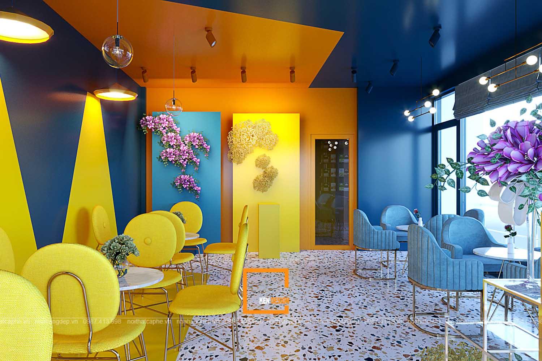 thiết kế quán trà sữa tại Thái Nguyên