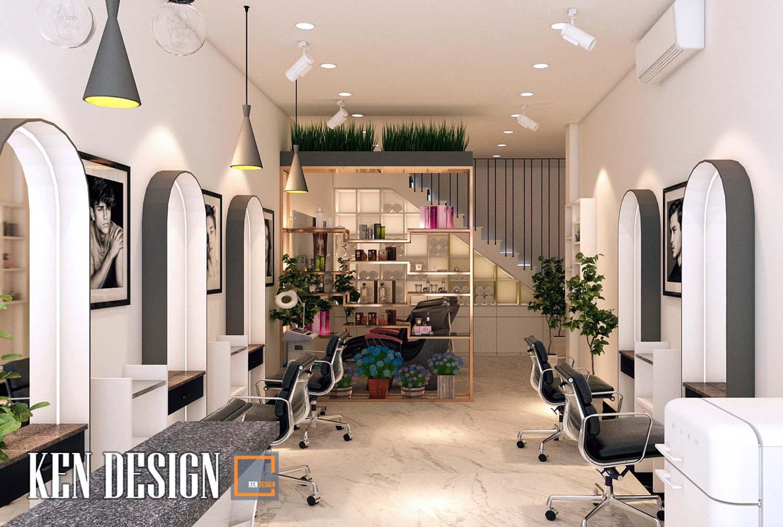 Mẫu thiết kế Salon Tóc