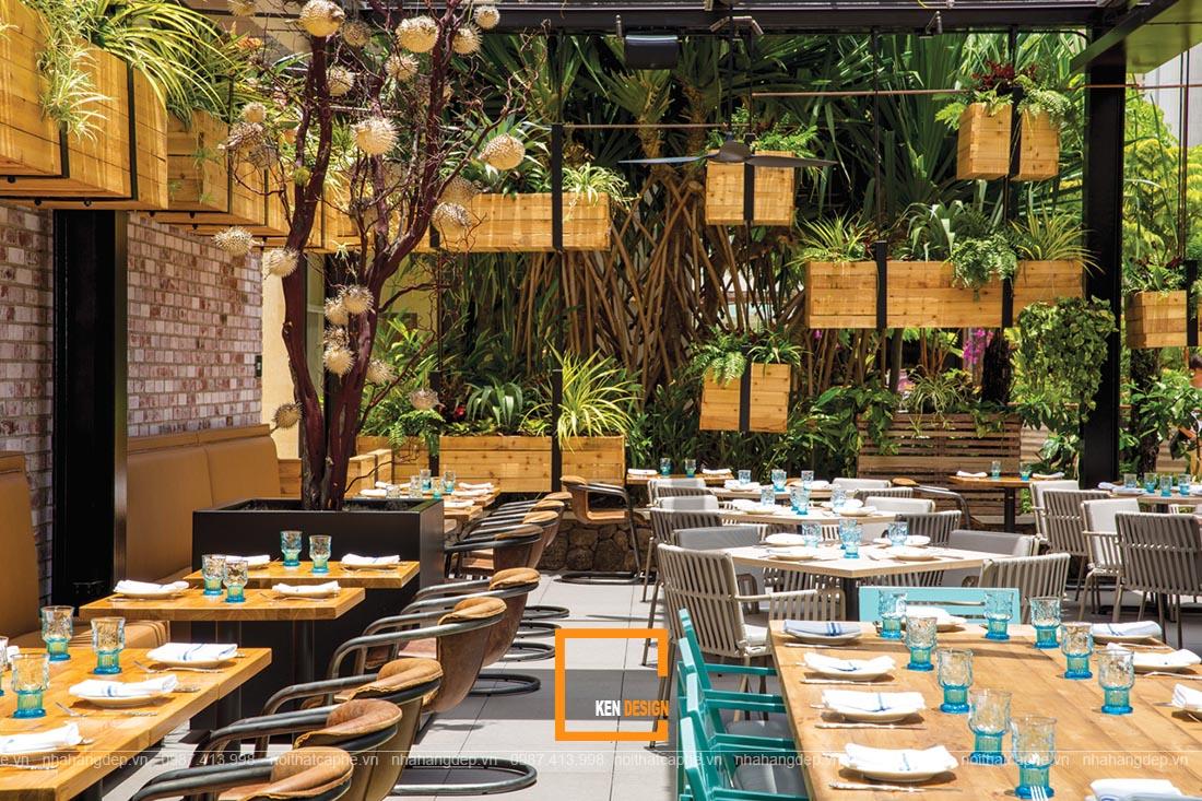 Điểm danh một số cách thiết kế thi công kiến trúc nhà hàng phổ biến hiện nay