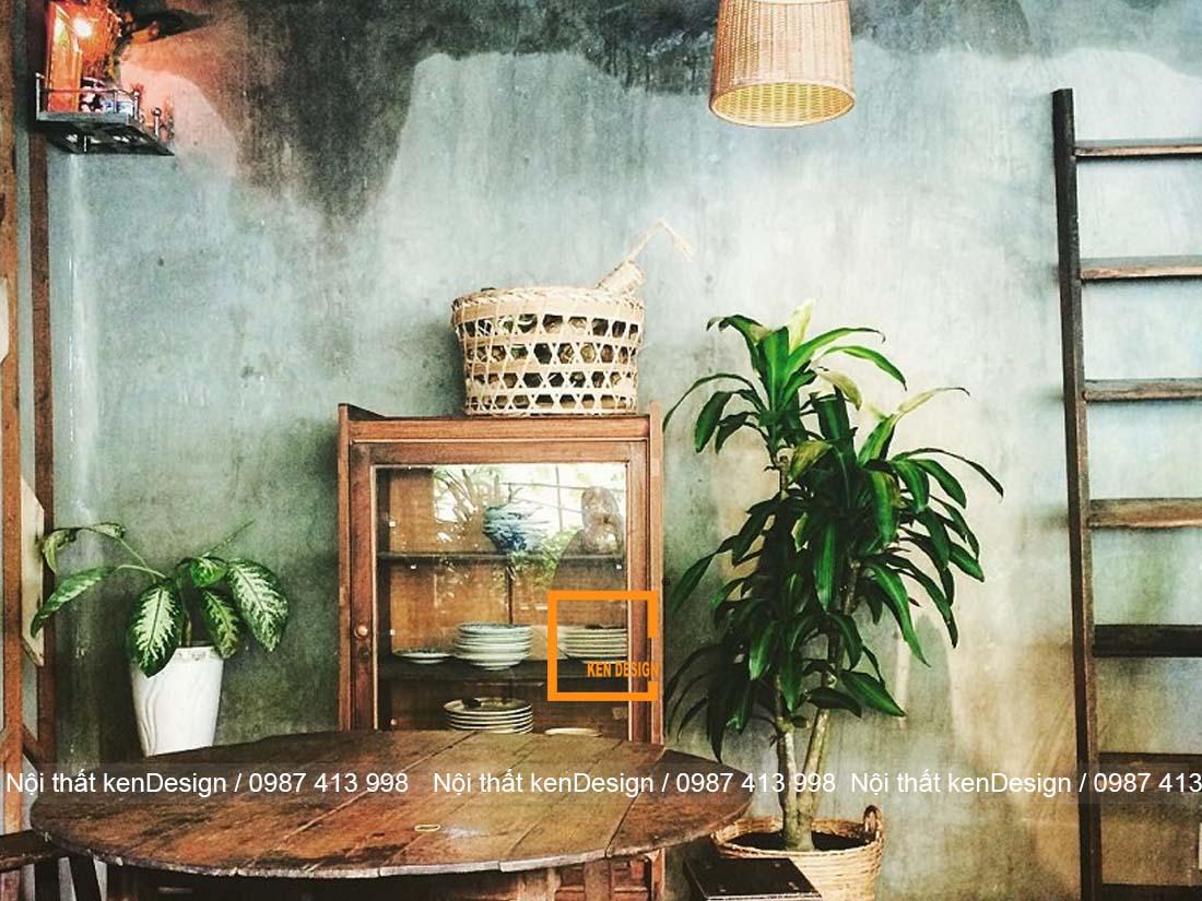 thiết kế nhà hàng phong cách vintage