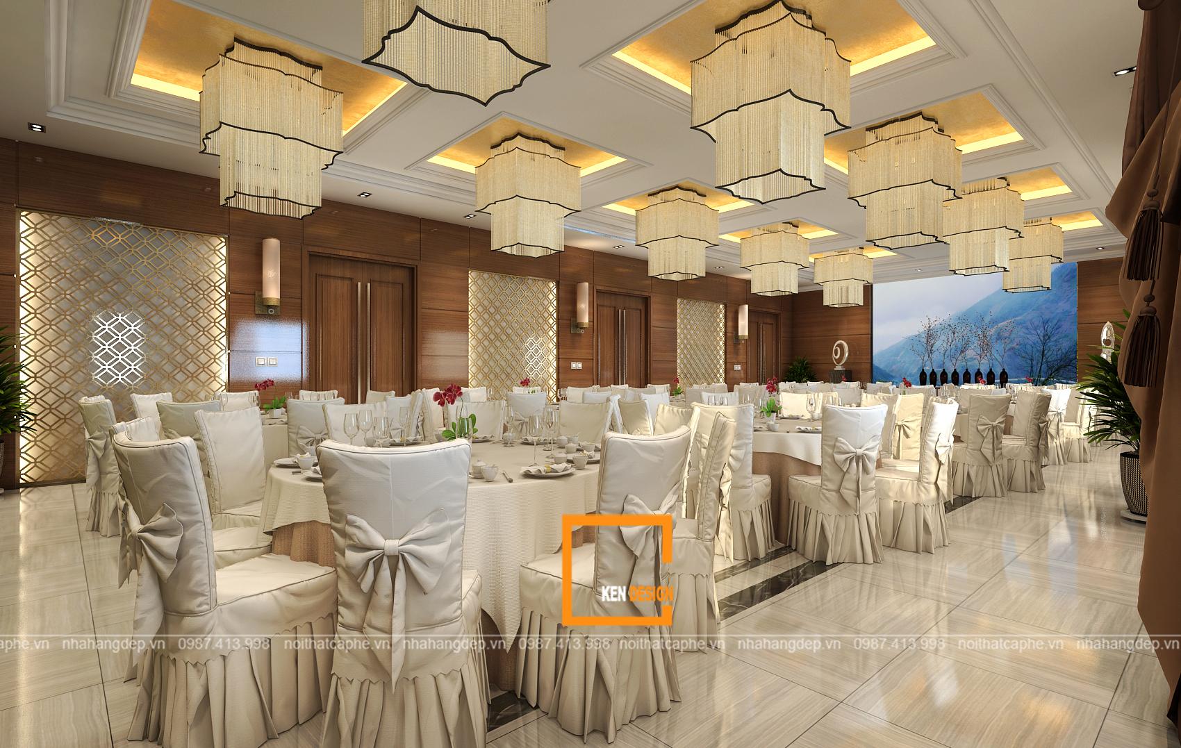 Thiết kế trung tâm tổ chức tiệc cưới