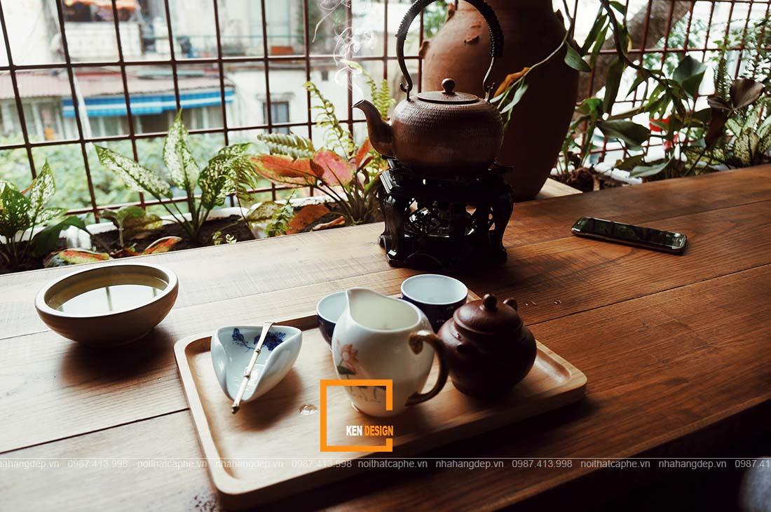Thiết kế quán trà đạo