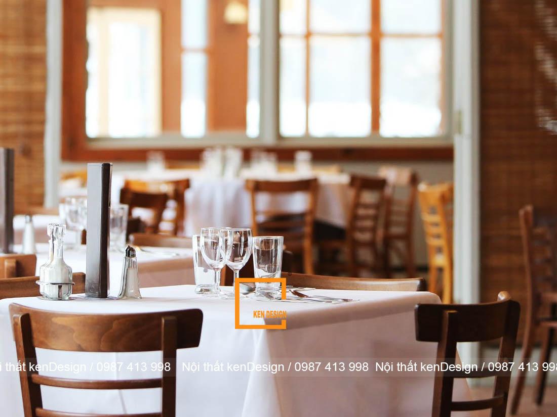 Tiêu chuẩn tạo nên một bản vẽ thiết kế nhà hàng đơn giản đẹp