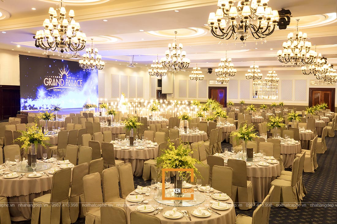 Thiết kế nhà hàng tiệc cưới