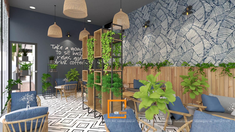 tiêu chuẩn thiết kế quán cafe