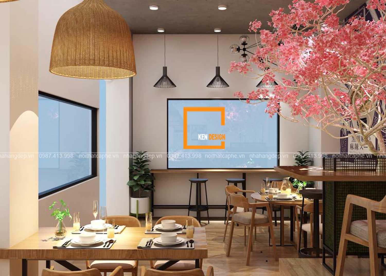 bảng dự toán chi phí setup nhà hàng
