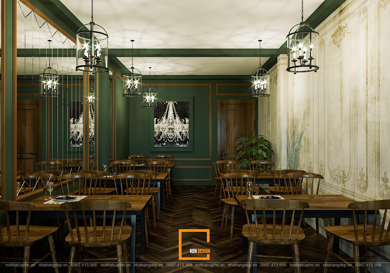 Thiết kế nhà hàng Topping Beef