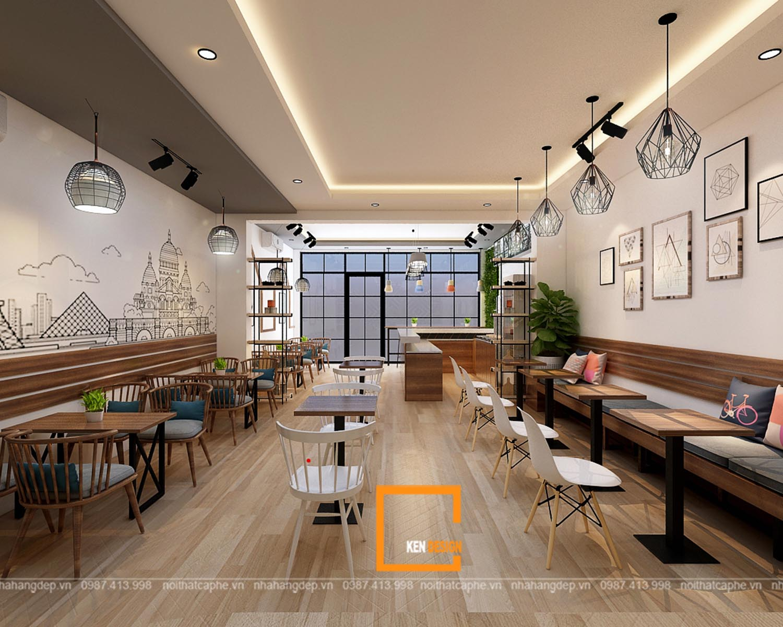 Thiết kế quán trà sữa tại Ba Vì